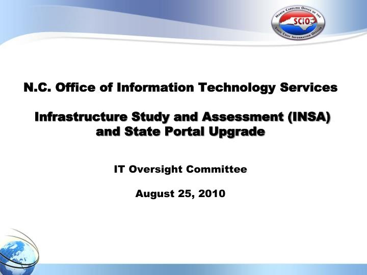N.C. Office of Information Technology Services