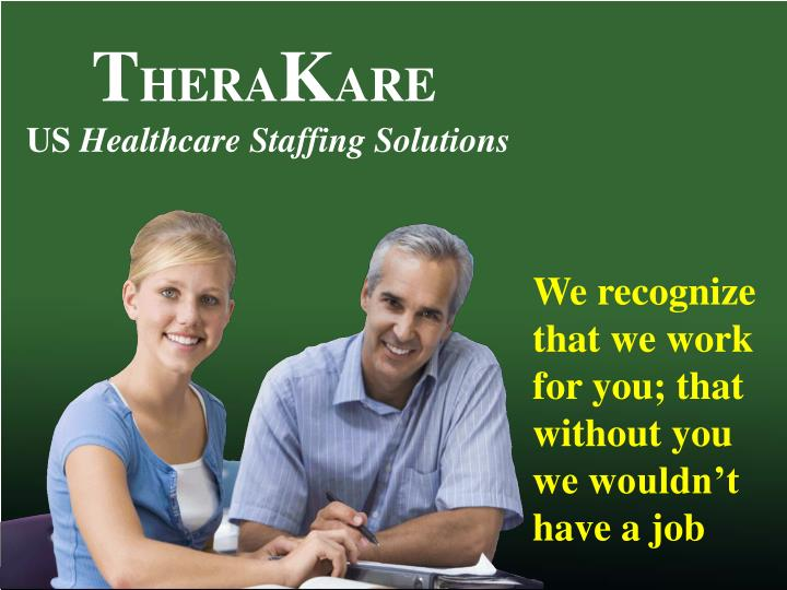 Us healthcare staffing company