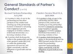 general standards of partner s conduct cont d2