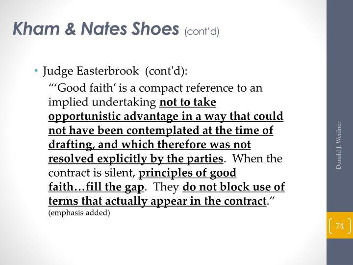 Kham & Nates Shoes