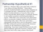 partnership hypothetical 1