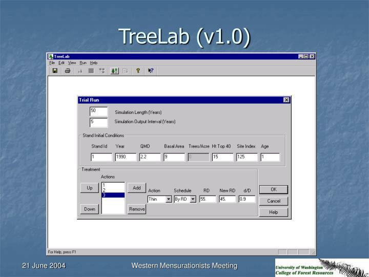 TreeLab (v1.0)