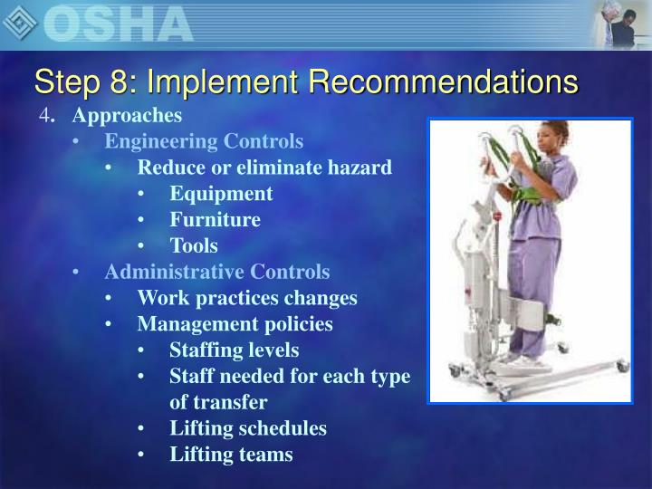Step 8: Implement Recommendations
