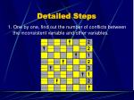 detailed steps