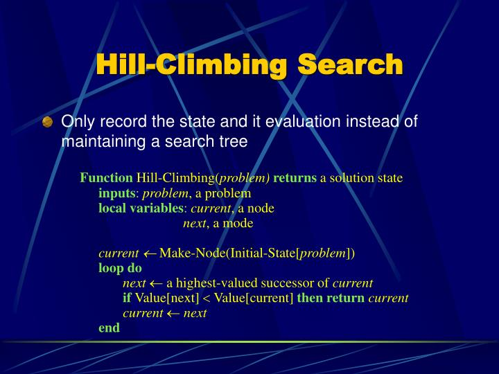 Only record the state and it evaluation instead of maintaining a search tree