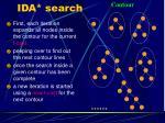 ida search