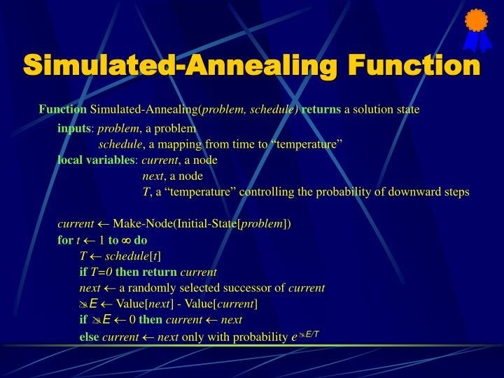 Simulated-Annealing Function