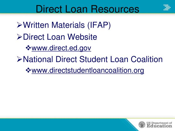 Direct Loan Resources