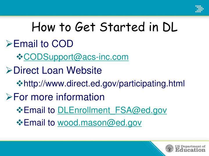 How to Get Started in DL