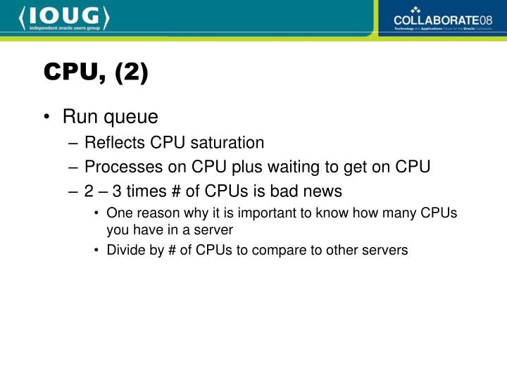 CPU, (2)