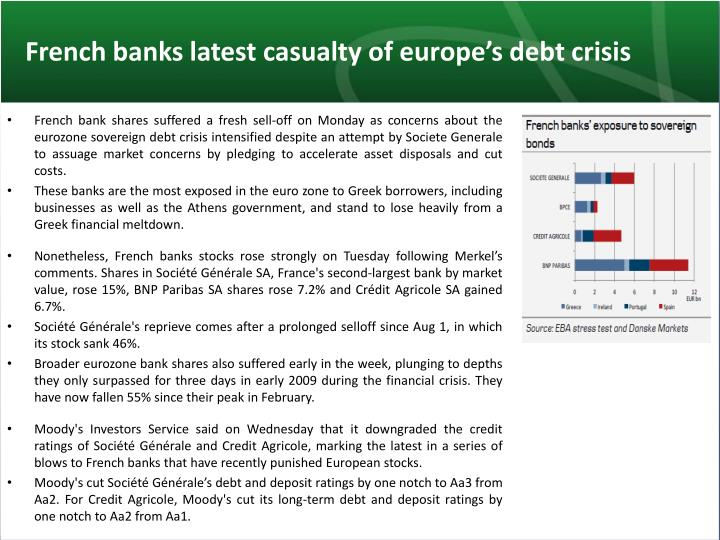 French banks latest casualty of