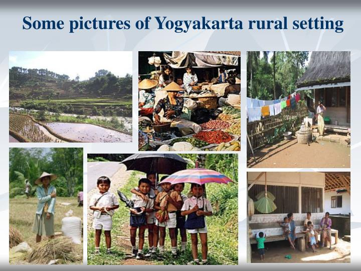 Some pictures of Yogyakarta rural setting