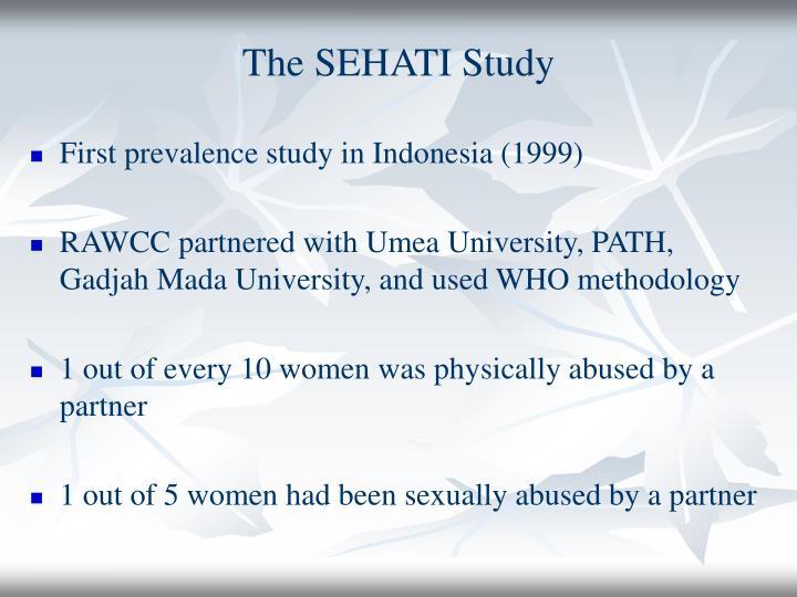 The SEHATI Study