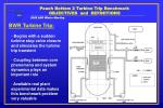 peach bottom 2 turbine trip benchmark objectives and definitions