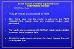 peach bottom 2 turbine trip benchmark performed studies