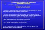 peach bottom 2 turbine trip benchmark performed studies7