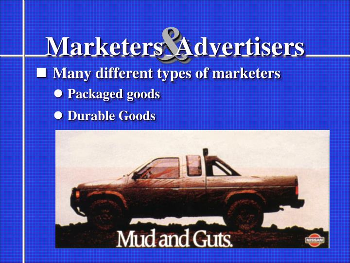 Marketers advertisers1