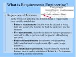 what is requirements engineering3
