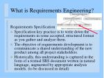 what is requirements engineering5