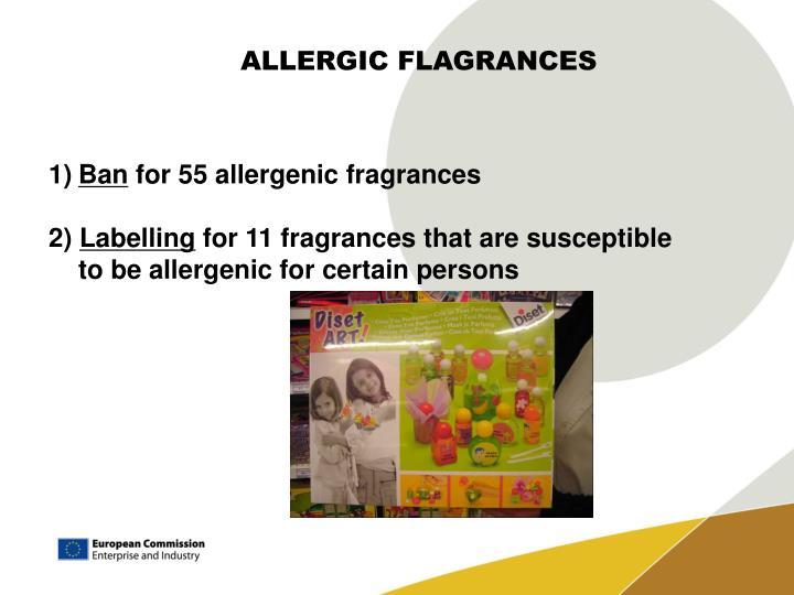 ALLERGIC FLAGRANCES