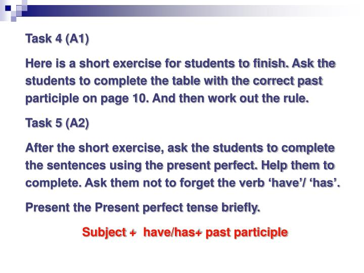 Task 4 (A1)