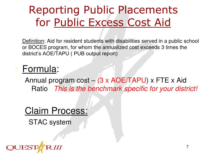 Reporting Public Placements