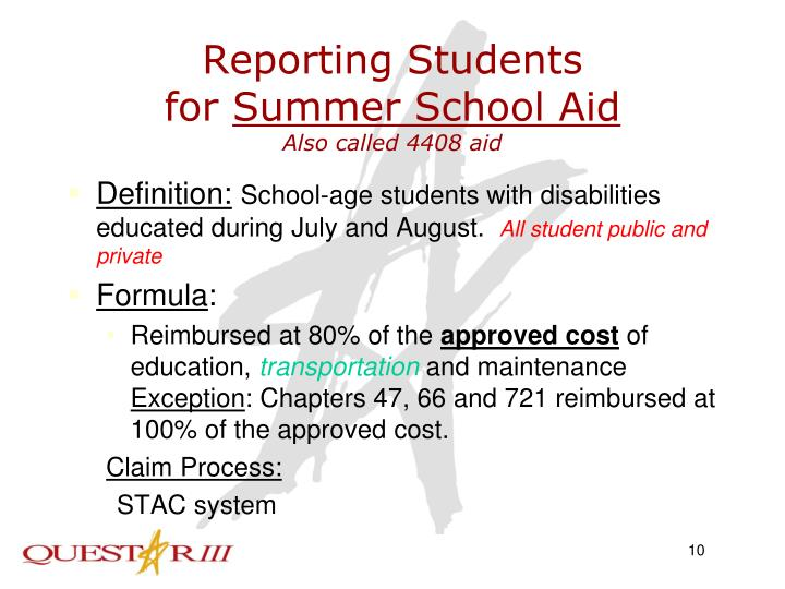 Reporting Students