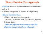 binary decision tree approach