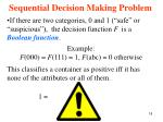 sequential decision making problem5