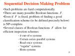 sequential decision making problem9