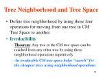tree neighborhood and tree space1
