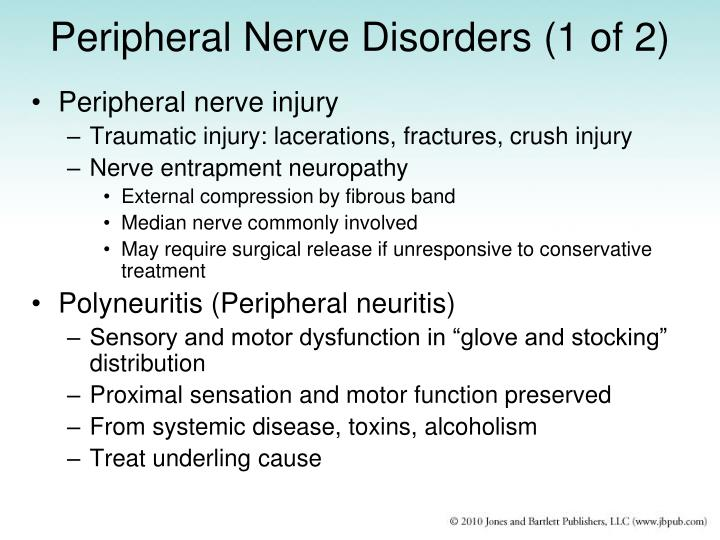 Peripheral Nerve Disorders (1 of 2)