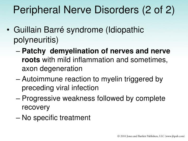 Peripheral Nerve Disorders (2 of 2)