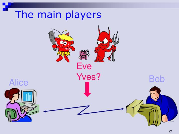 The main players
