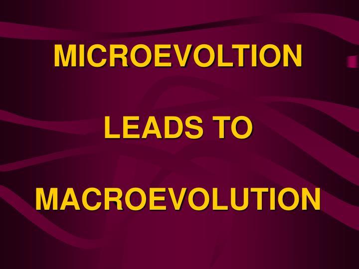 MICROEVOLTION