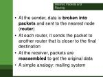 internet packets and routing1