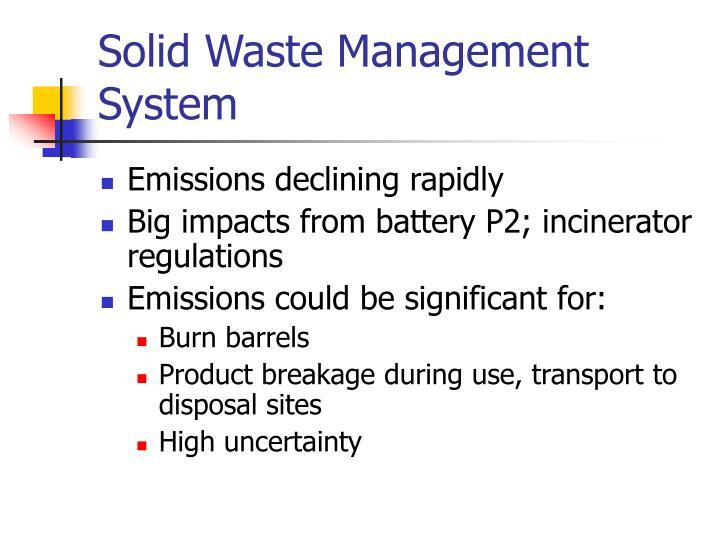 Solid Waste Management System
