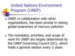 united nations environment program unep