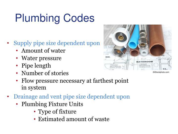Plumbing Codes