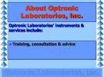 about optronic laboratories inc2