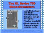 the ol series 750 monochromators1