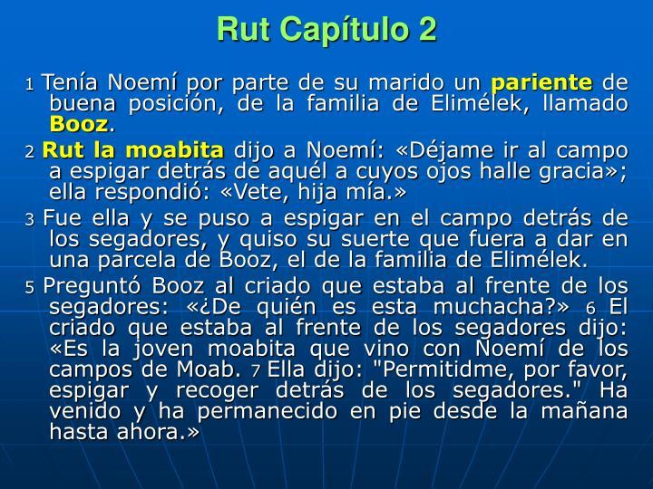 Rut Capítulo 2