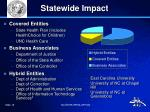 statewide impact
