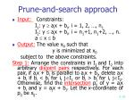 prune and search approach2