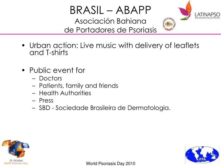BRASIL – ABAPP
