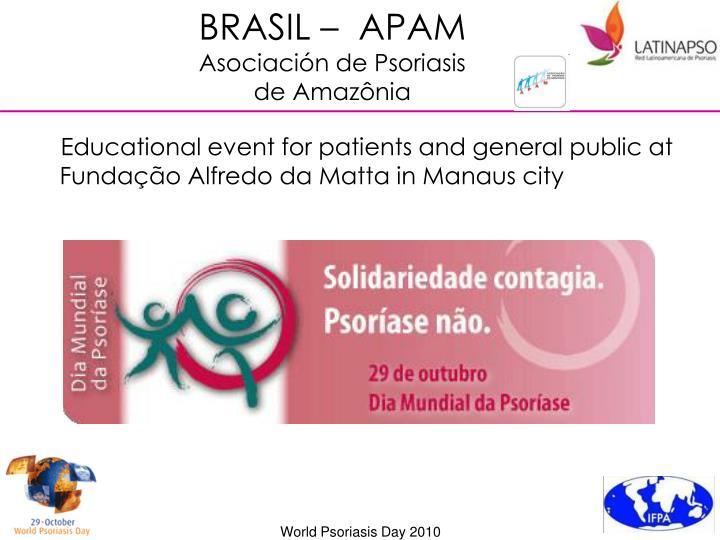 BRASIL –  APAM