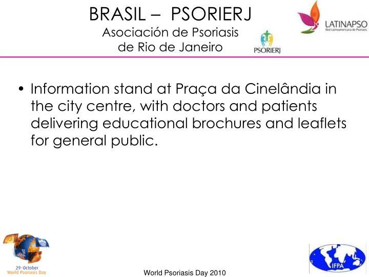 BRASIL –  PSORIERJ