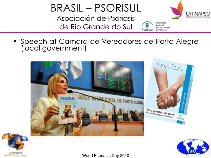 BRASIL – PSORISUL