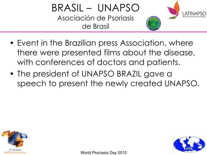 BRASIL –  UNAPSO