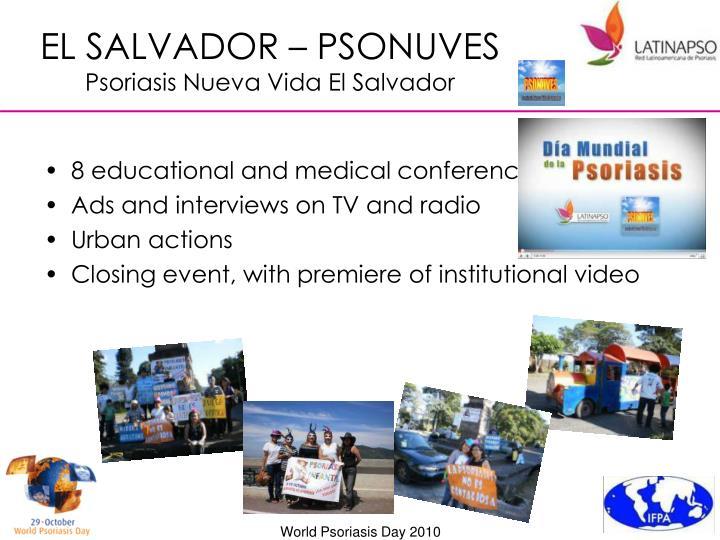 EL SALVADOR – PSONUVES